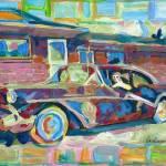 """Grandmas Here full size painting"" by RDRiccoboni"
