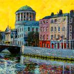 """Four Courts from East, Dublin, Ireland"" by irishkc"