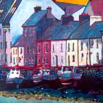 """Long Walk Boats, Galway, Ireland"" by irishkc"