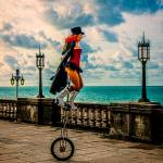 """The Unicyclist"" by ChrisLord"
