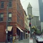 """Seattle Street Corner, 2007"" by Ffooter"