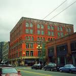 """""""Seattle - Pioneer Square Building"""" by Ffooter"""