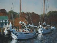 Skipjacks in Dogwood Harbor