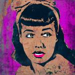 """BETTIE PAGE-BOW"" by thegriffinpassant"
