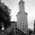 """Seattle - Pioneer Square Tower"" by Ffooter"