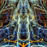 """""""ABSTRACT LIGHT STREAKS #167 - PYRAMID and the ALL-"""" by nawfalnur"""