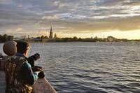 Fishing On the Neva