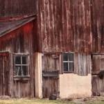 """Details of a brown barn"" by Anewsgal"