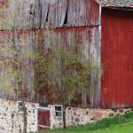 """""""Rural red and fieldstone"""" by Anewsgal"""