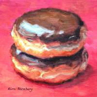 Double Boston Cream Art Prints & Posters by Kim Stenberg