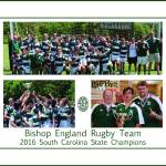 """""""BE Rugby Champions Poster"""" by FluidColor"""