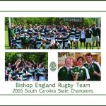 """BE Rugby Champs Poster"" by FluidColor"