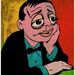 """Peter Lorre"" by thegriffinpassant"