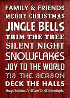 CHRISTMAS WORDS