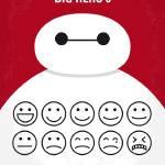 """""""No649 My Big Hero 6 minimal movie poster"""" by Chungkong"""