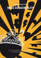 No652 My Miss Congeniality minimal movie poster
