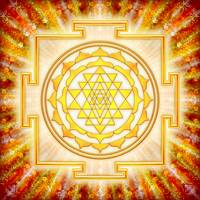 Sri Yantra - Artwork Light