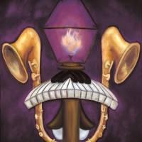 LSU Tigers // Purple and Gold Fleur de Lis Art Prints & Posters by Joshua Matherne