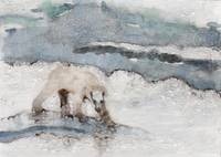 White Bear On Ice