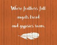WHERE FEATHERS FALL...