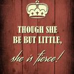 """""""THOUGH SHE BE..."""" by marymase"""