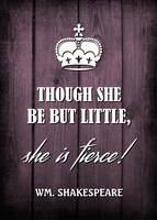 THOUGH SHE BE...