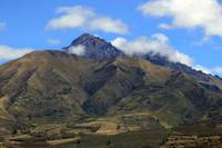 Volcano in the Andes Mountains