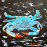 """Blue Crab"" by lmeaux2"