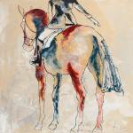 """""""Show Horse 3"""" by LizWiley"""