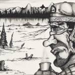 """Lumberjack Camp"" by cartoonartstudios"