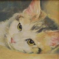 kitten Art Prints & Posters by Sarah Madsen