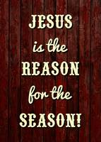 JESUS IS THE REASON