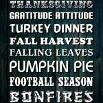 """THANKSGIVING WORDS (4)"" by marymase"