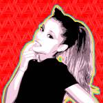 """Ariana Grande | Pop Art"" by wcsmack"