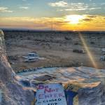 """salvation mountain sunset"" by KPphotography"