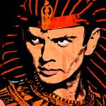 """Yul Brynner-Ten Commandments"" by thegriffinpassant"