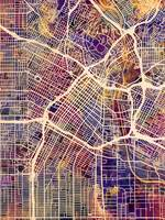 Los Angeles City Street Map