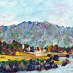 Mt San Jacinto Palm Springs California by RD Riccoboni