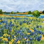 """Painted Hills"" by HaileyWatermedia"