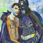 """Bruce Loves Dick_the Bird and the bat"" by BeaconArtWorksCorporation"