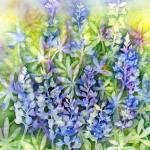 """Texas Blues"" by HaileyWatermedia"