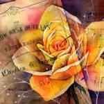 """Yellow Rose of Texas"" by HaileyWatermedia"