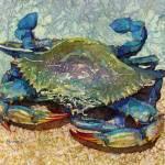"""Blue Crab"" by HaileyWatermedia"
