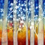"""White Forest II"" by HaileyWatermedia"