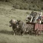 """Horse Drawn Wagon"" by SederquistPhotography"