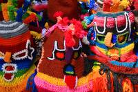Colorful Knit Masks