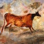 """""""Red Cow"""" by HaileyWatermedia"""