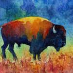 """American Buffalo 2"" by HaileyWatermedia"