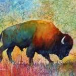 """American Buffalo 4"" by HaileyWatermedia"