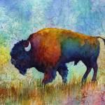 """American Buffalo 5"" by HaileyWatermedia"